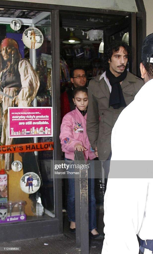 Madonna's Children Shop for Halloween Costumes - October 30, 2006
