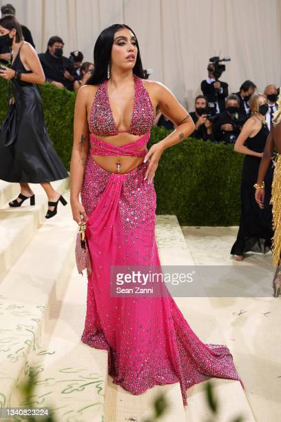 Lourdes Leon attends 2021 Costume Institute Benefit - In America: A Lexicon of Fashion at the Metropolitan Museum of Art on September 13, 2021 in New...