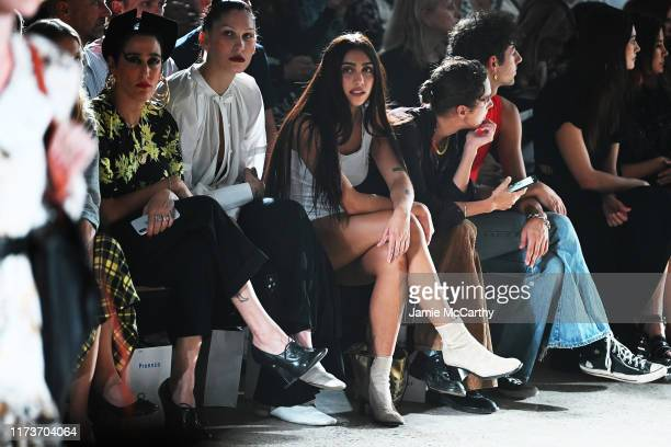 Lourdes Leon attends the front row for Proenza Schouler during New York Fashion Week The Shows on September 10 2019 in New York City