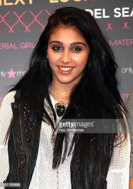 Lourdes Leon attends the Material Girl Lucky Stars casting call at Macy's Herald Square on November 2 2011 in New York City