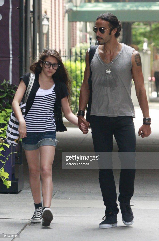 Celebrity Sightings in New York - June 30, 2008
