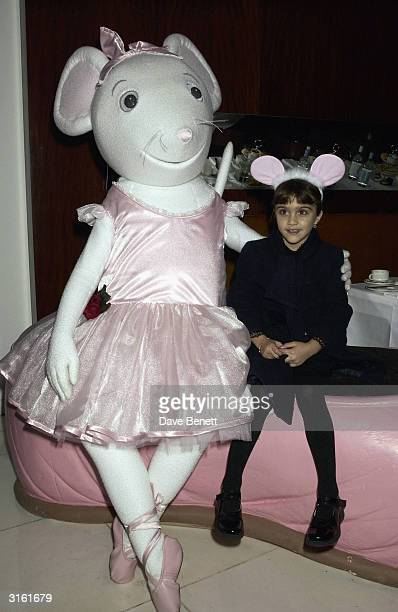 Lourdes Madonna's daughter at the Angelina Ballerina Nutcracker gala preparty on December 3rd 2002 at the St Martins hotel in London where the kids...