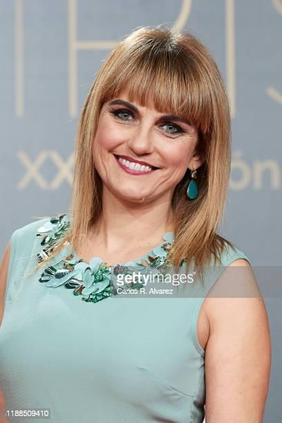 Lourdes Maldonado attends 'Iris Academia de Television' awards at Nuevo Teatro Alcala on November 18 2019 in Madrid Spain