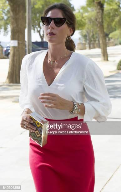 Lourdes Montes attends Goyesca 2017 bullfights on September 2 2017 in Ronda Spain