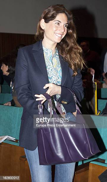 Lourdes Montes attends I Biennial International Bullfighting 'Tauromundo' on February 15 2013 in Ronda Spain