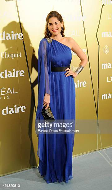 Lourdes Montes attends 'Marie Claire Prix de la Moda' 2013 on November 21 2013 in Madrid Spain