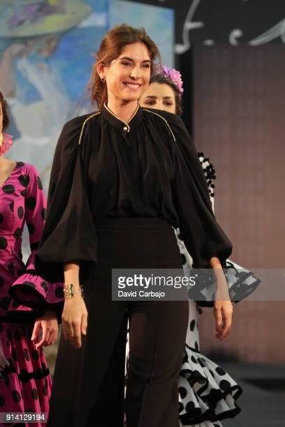 Lourdes Montes attends Simof 2018 on February 3 2018 in Seville Spain
