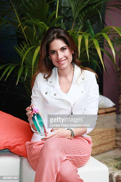 Lourdes Montes presents New Escada Fragrance on March 26 2014 in Malaga Spain