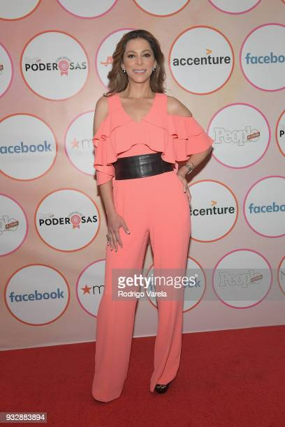 Lourdes Stephen arrives at the People en Espanol's 25 Most Powerful Women Luncheon 2018 on March 16 2018 in Miami Florida