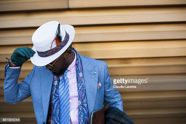 Lourens Gebhardt is seen on January 11 2017 in Florence Italy