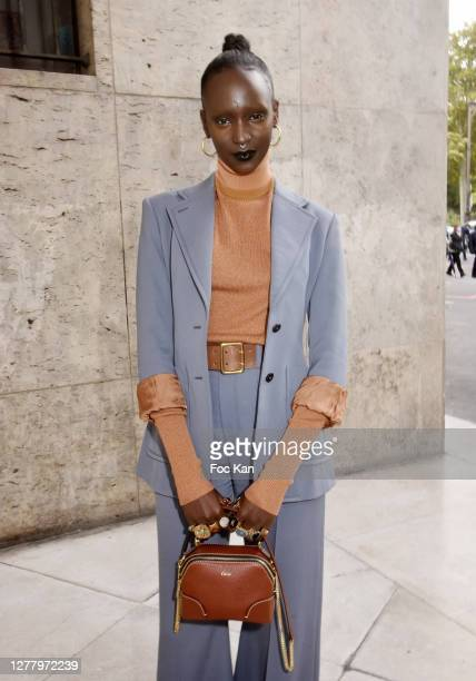 Lous and the Yakuza attends the Chloe Womenswear Spring/Summer 2021 show as part of Paris Fashion Week on October 01, 2020 in Paris, France.