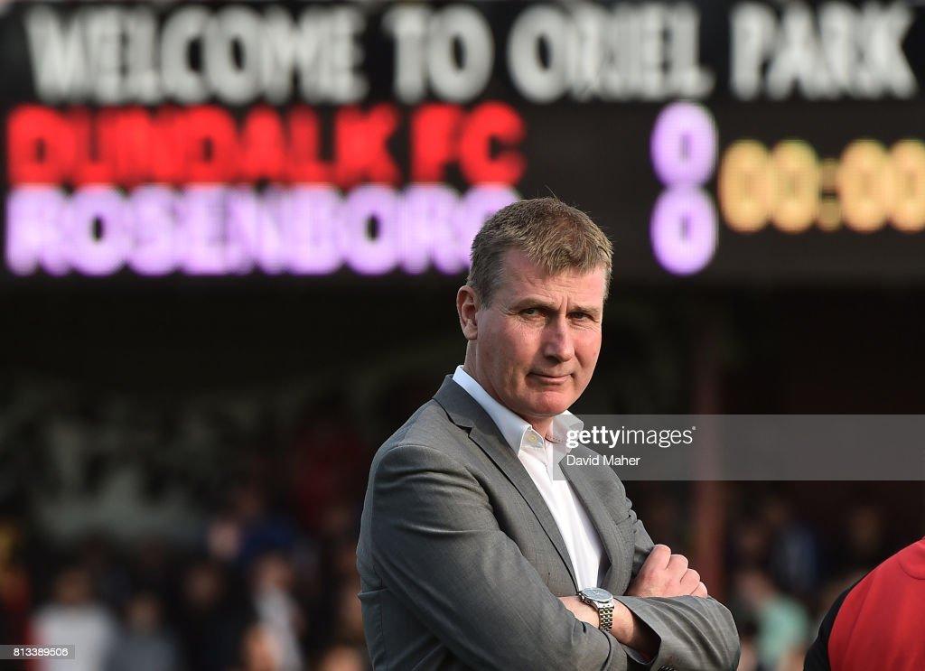 Dundalk v Rosenborg - UEFA Champions League Second Qualifying Round first leg : News Photo