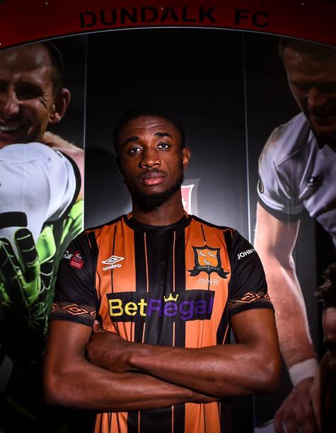 IRL: Dundalk Unveil New Signing Junior Ogedi-Uzokwe