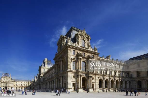 louvre palace, paris, france - ルーヴル美術館 ストックフォトと画像