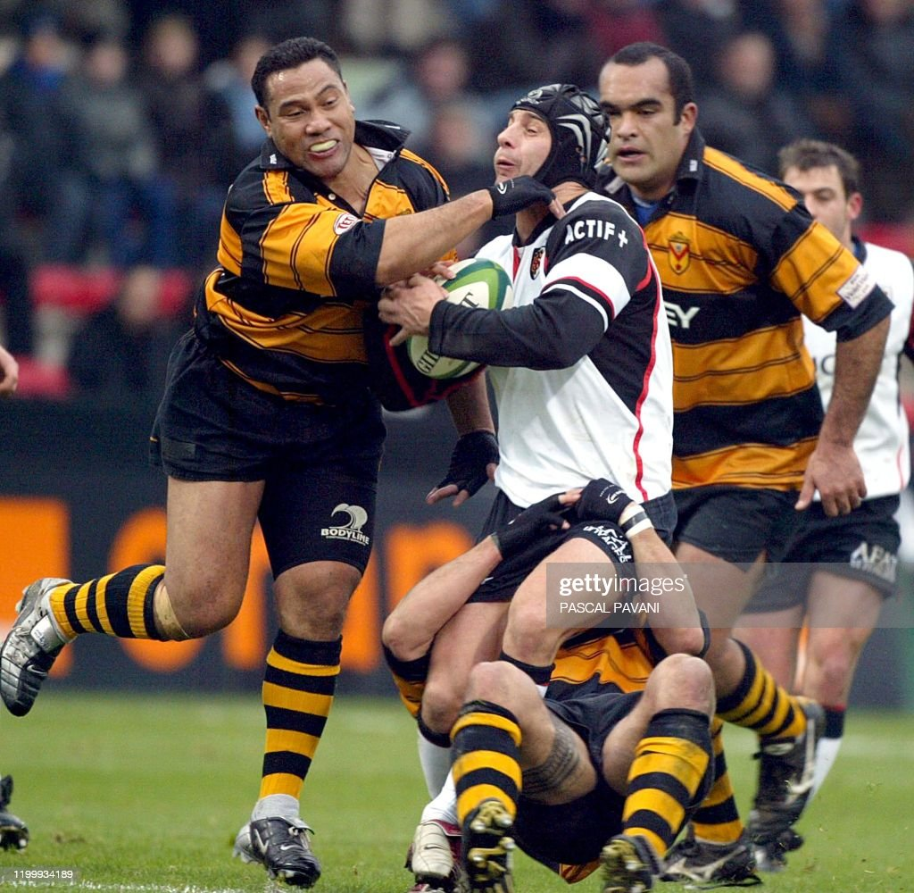 RUGBY-EUR-TOULOUSE-NEWPORT : News Photo