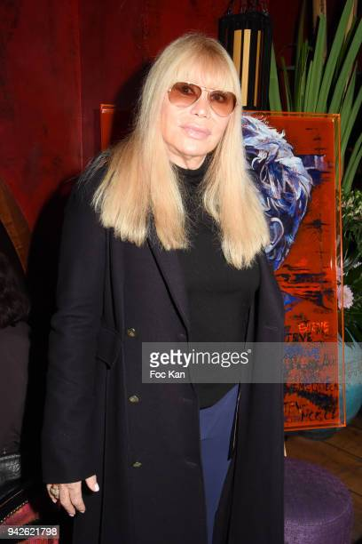 """Lova Moor attends """"Steve McQueen Exhibition : 50 years of Bullit"""" by Natacha Toutain at Buddha on April 5, 2018 in Paris, France."""