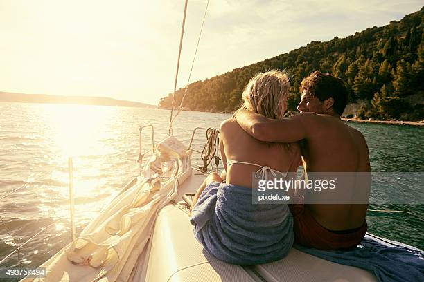 love anchors the soul - honeymoon stock photos and pictures