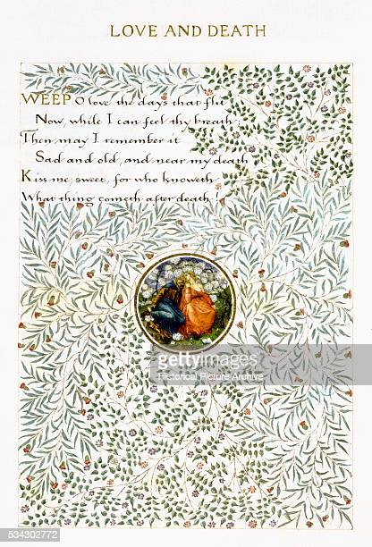 Love and Death Poem Illustration by William Morris