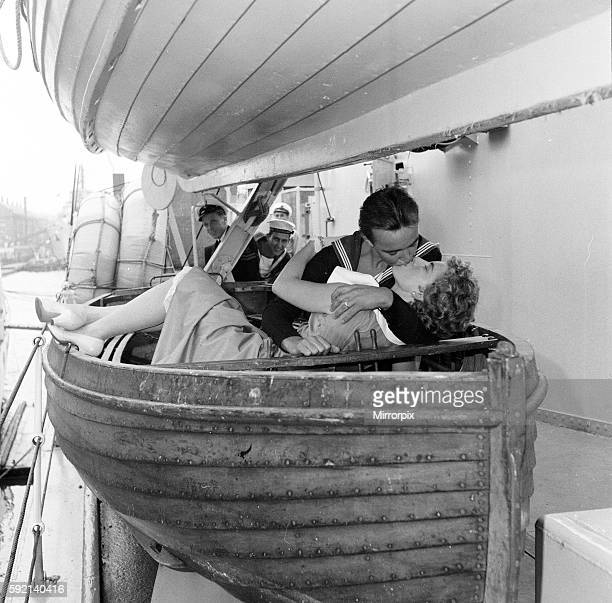 Love and Romance on board the Frigate HMS St Austell who arrived at Her Majesty's Naval Base Devonport 12th September 1956