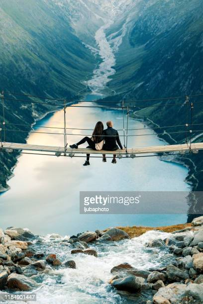 love at high altitudes - wonderlust stock pictures, royalty-free photos & images