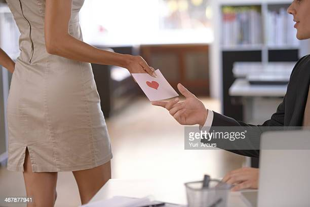 love at the office - work romance stock pictures, royalty-free photos & images