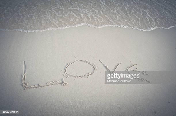 Love beach vacation