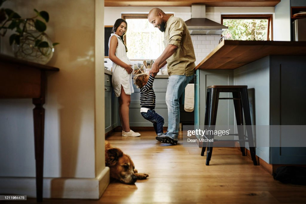 Love begins at home : Stock Photo