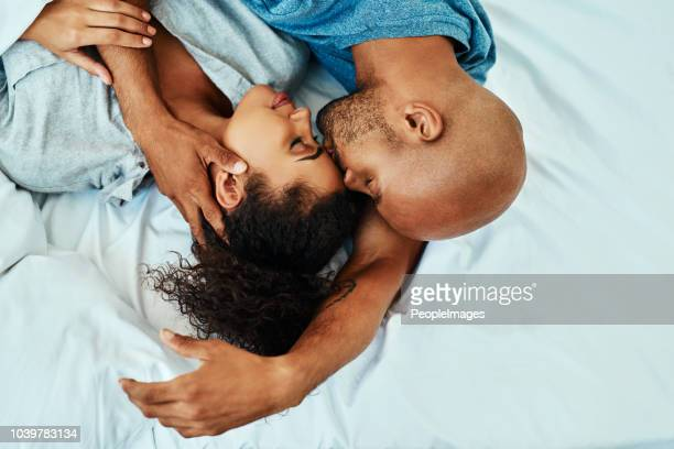 i love being around you - black people kissing stock pictures, royalty-free photos & images