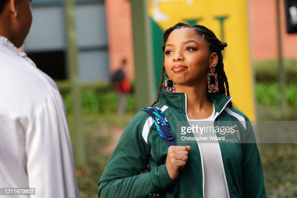 "Love, Boat"" - In the season finale of ""black-ish,"" Dre can't come to terms with his new reality when he discovers something shocking about Pops and..."