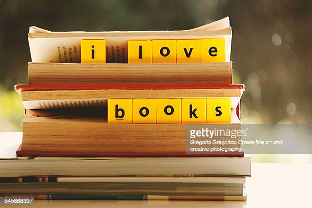 i love books - gregoria gregoriou crowe fine art and creative photography. stock pictures, royalty-free photos & images