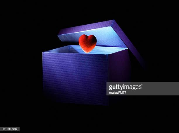 love box -   with clipping path