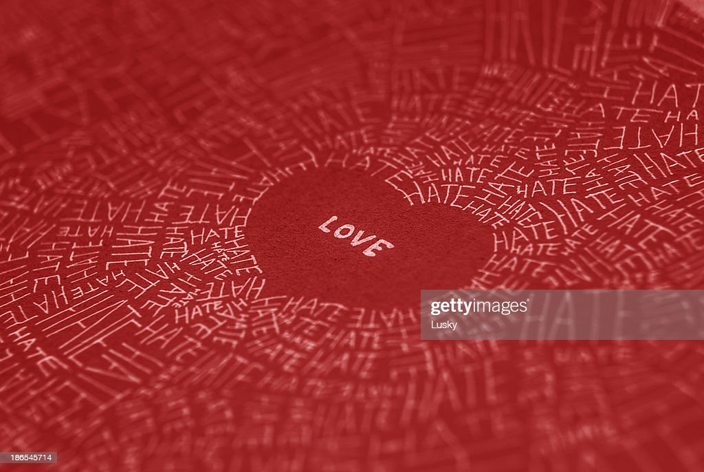 Love conquers all : Stock Photo