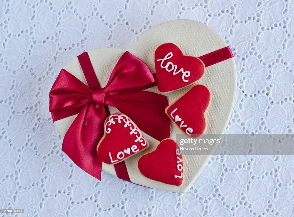 Love cookies : Stock Photo
