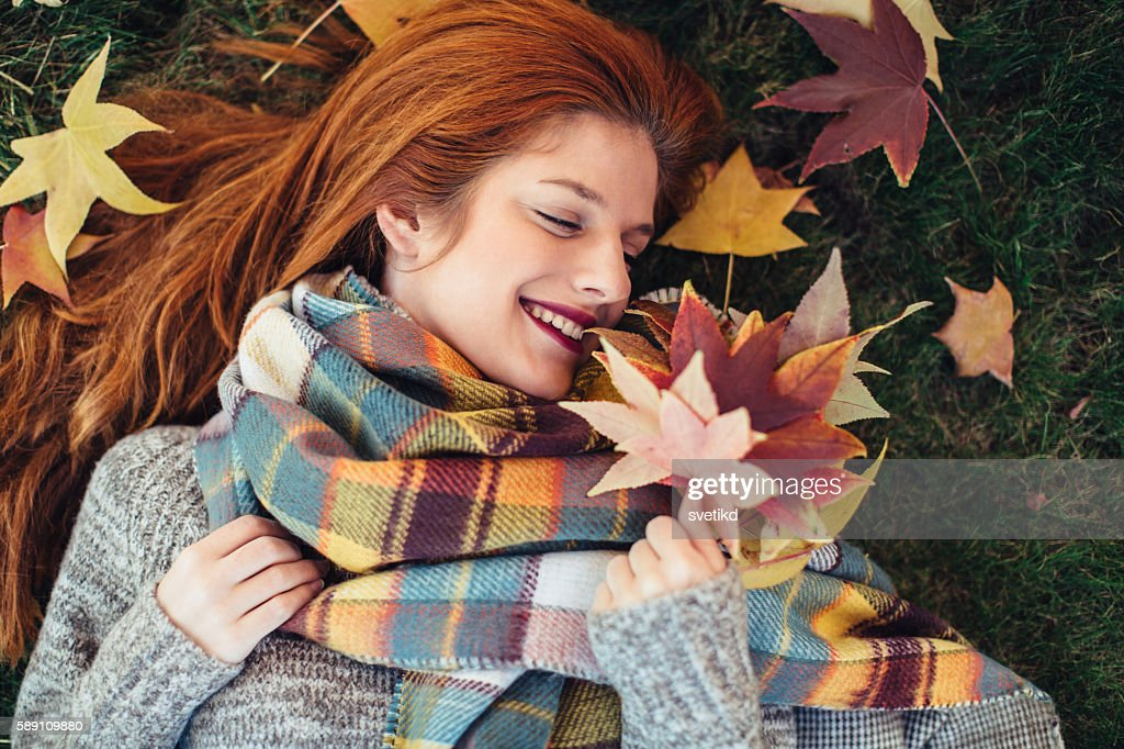 I love fall, most of all : Stock Photo