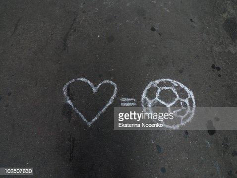 najnowszy projekt klasyczne buty urzędnik Love Football Puma Stock-Foto - Getty Images