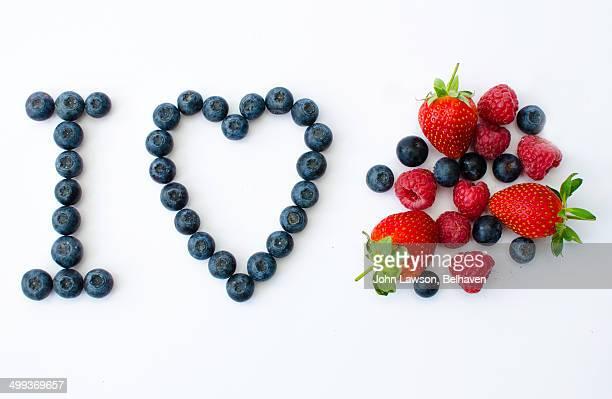 I love fresh berries