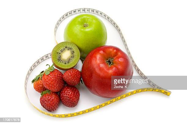 I love fruits (Dieting concept)