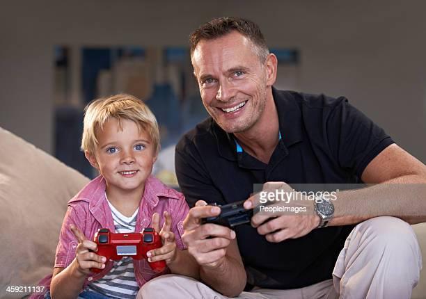 Ich liebe mein Vater spielen mit