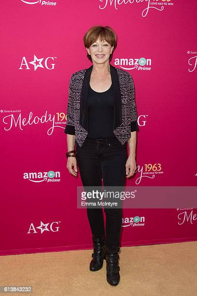 Actress Frances Fisher attends the premiere screening of Amazon Original Special 'An American Girl Story Melody 1963 Love Has To Win' at Pacific...