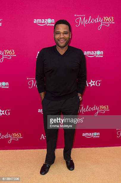 Actor Anthony Anderson attends the premiere screening of Amazon Original Special 'An American Girl Story Melody 1963 Love Has To Win' at Pacific...