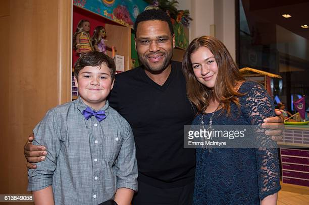 Actors Maxwell Donovan and Anthony Anderson attend the after party for the premiere screening of Amazon Original Special 'An American Girl Story...