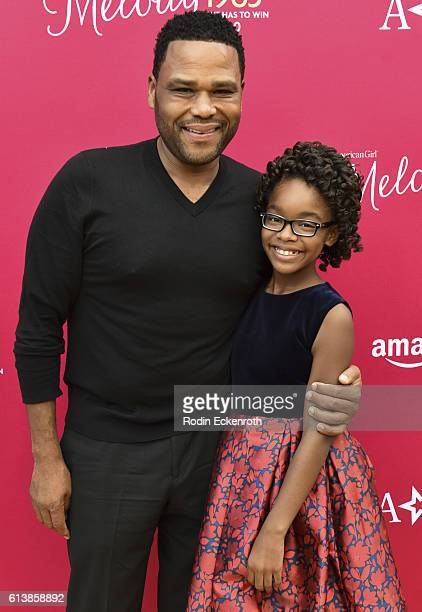 Actors Anthony Anderson and Marsai Martin attend the premiere of Amazon Studios' An American Girl Story Melody 1963 Love Has To Win at Pacific...