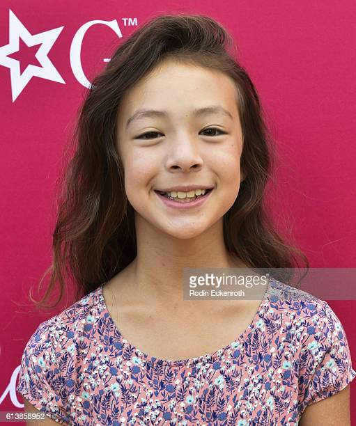 Actress Aubrey AndersonEmmons attends the premiere of Amazon Studios' An American Girl Story Melody 1963 Love Has To Win at Pacific Theatres at The...