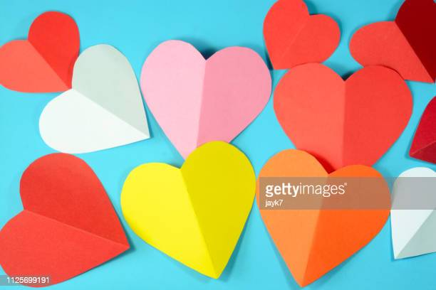 love hearts - february stock pictures, royalty-free photos & images