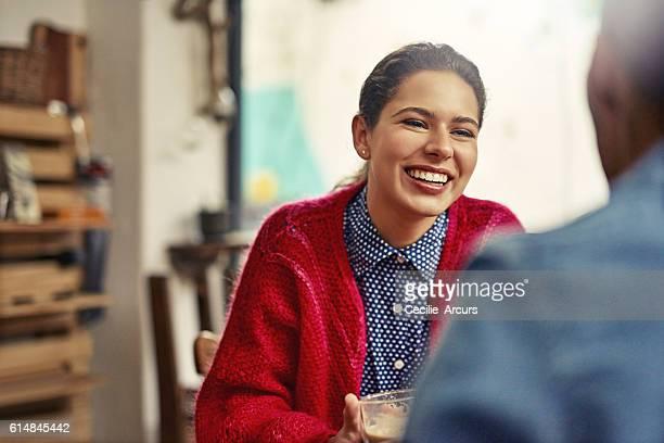 Amour dans un coffee shop