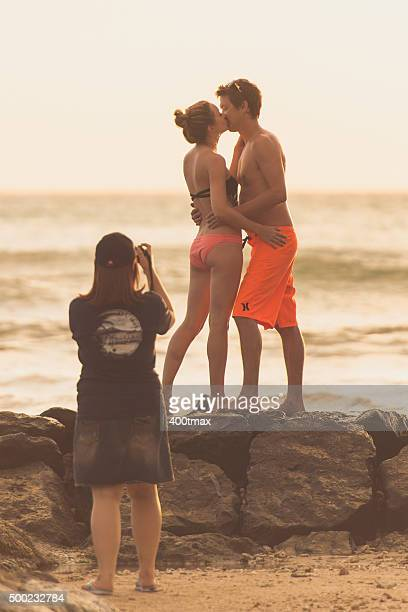 love in waikiki - tropical music stock photos and pictures