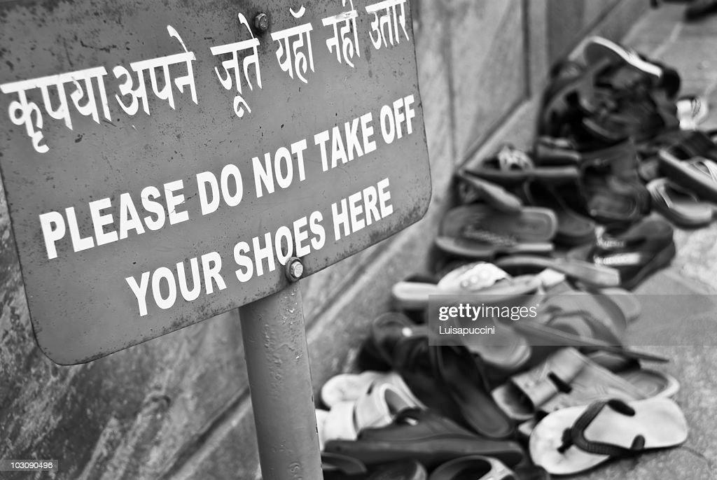 I love India !   : Foto stock