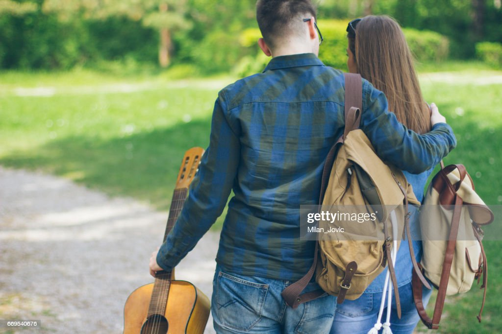 Love into the wilds : Stock Photo