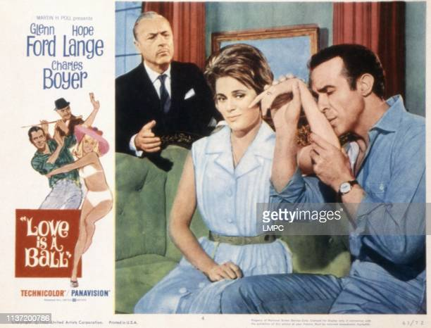Love Is A Ball poster Charles Boyer Ulla Jacobsson Ricardo Montalban 1963
