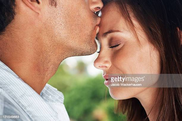 love is a dream that comes alive when we meet - forehead stock pictures, royalty-free photos & images